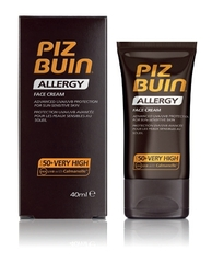 PIZ BUIN ALLERGY CREMA FACIAL SPF50+ 50ML