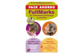 FULL MARKS KIT LOCION 100ML+CHAMPÚ 150ML TRATAMIENTO COMPLETO