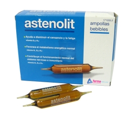 ASTENOLIT 12 AMPOLLAS BEBIBLES 10ML