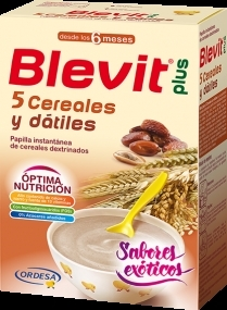 BLEVIT PLUS EXOTICO 5 CEREALES Y DATILES 300GR