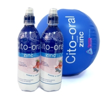 CITO ORAL JUNIOR ZINC SABOR FRESA 2X500ML
