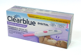 TEST DE OVULACION CLEARBLUE DIGITAL 7 PRUEBAS (DISPENSADO POR FARMACIA DE SANTIAGO CB)