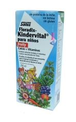 FLORADIX KINDERVITAL PARA NIÑOS VITAMINAS Y CALCIO FRUITY 250ML