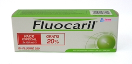 PASTA DENTAL FLUOCARIL DUPLO 2X125ML