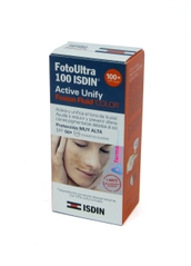FOTOULTRA 100 ISDIN ACTIVE UNIFY FUSION FLUID COLOR 50ML