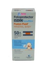 FOTOPROTECTOR ISDIN PEDIATRICS FUSION FLUID MINERAL BABY SPF50 A PARTIR DE 0 MESES 50ML