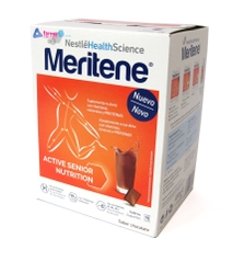 MERITENE CHOCOLATE ACTIVE SENIOR POLVO 15 SOBRES DE 30 GR