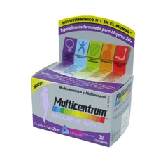 MULTICENTRUM MUJER 50+ SELECT MULTIVITAMINICO Y MULTIMINERAL 30 COMPRIMIDOS