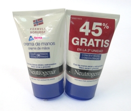 NEUTROGENA CREMA DE MANOS DUPLO 50ML
