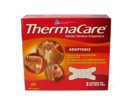 THERMACARE PARCHE TERMICO ADAPTABLE 3 UND
